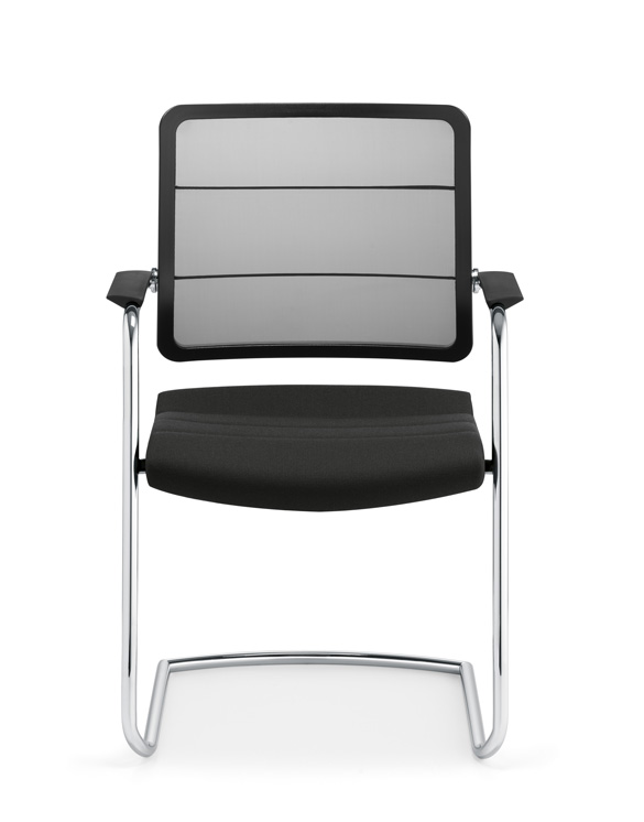 Bh1blackpsi Office Chair 5c30 Black Front Meeting Ch Office Furniture Suppliers London
